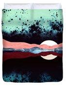 Night Sky Reflection Duvet Cover