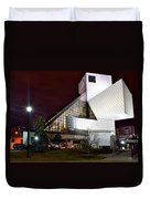 Night Time At The Rock Hall Duvet Cover