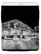 Night Time In The City Of New Orleans I Duvet Cover by Tony Reddington