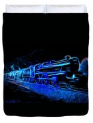Night Train To Romance Duvet Cover by Aaron Berg