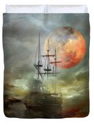 Night Travel Duvet Cover