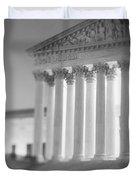 Night Us Supreme Court Washington Dc Duvet Cover