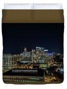 Night View  Duvet Cover