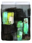 Texture Of Night Painting Duvet Cover