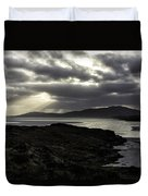 Nightfall Isle Of Harris Duvet Cover