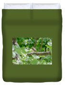 Nightingale In The Wood Duvet Cover