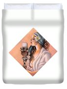 Nights Candle Duvet Cover