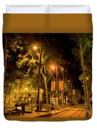 Nights San Jose Downtown  Duvet Cover