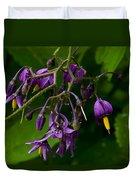 Nightshade Wildflowers #5607 Duvet Cover