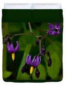 Nightshade Wildflowers #5633 Duvet Cover