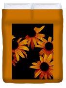 Nighttime Flowers Duvet Cover
