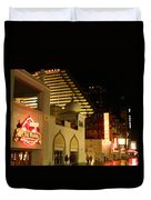 Nighttime On The Boardwalk Duvet Cover