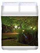 Nighttime Path Duvet Cover