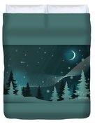 Nighttime Duvet Cover