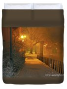 Nigthwalk  Duvet Cover