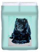 Nikki The Chow Duvet Cover