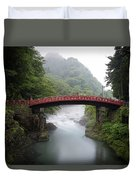 Nikko Shin-kyo Bridge Duvet Cover