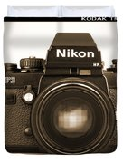 Nikon F3 Hp Duvet Cover