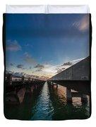 Niles Summer Sunset Duvet Cover