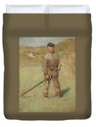 Nils Kreuger, 1858-1930, Young Boy, Scene From Holland. Executed In July-august 1883 Duvet Cover