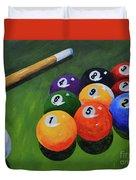 Nine Ball Duvet Cover