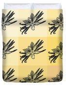 Nine Shades Of Vanilla Duvet Cover