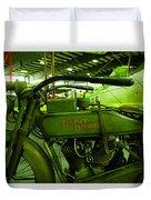 Nineteen Eighteen Harley Davidson Duvet Cover