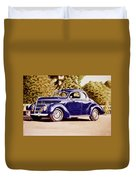 Nineteen Thirty Eight Ford Coupe Duvet Cover