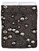 Ninja Faces Duvet Cover