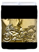 Ninja Motorcycle Colection Duvet Cover