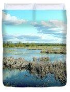 Nisqually Marsh Duvet Cover