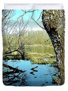 Nisqually Pond Duvet Cover