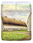 Nisqually Twin Barns Duvet Cover