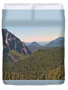 Nisqually Valley In Color Duvet Cover