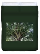 Niu Ola Hiki Coconut Palm Duvet Cover