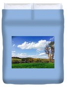 17th Hole Duvet Cover