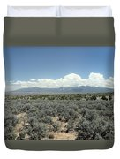New Mexico Landscape 3 Duvet Cover