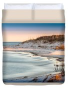 No Footsteps In The Sand #101 Duvet Cover