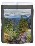 Colorful Wilderness Duvet Cover