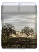 Wine Country Sunrise Duvet Cover