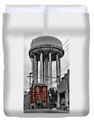 No Turn On Red, Frederick, Maryland, 2015 Duvet Cover