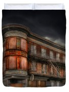 No Vacancy Duvet Cover by Shelley Neff