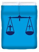 No014 My Cape Fear Minimal Movie Poster Duvet Cover