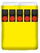 No075 My Senna Minimal Movie Poster Duvet Cover by Chungkong Art