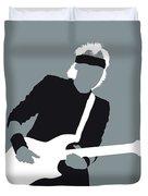 No107 My Mark Knopfler Minimal Music Poster Duvet Cover