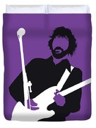 No141 My Eric Clapton Minimal Music Poster Duvet Cover