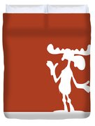 No19 My Minimal Color Code Poster Bullwinkle Duvet Cover