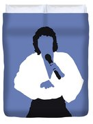 No198 My Barry Manilow Minimal Music Poster Duvet Cover