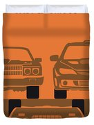 No207-4 My Fast And Furious Minimal Movie Poster Duvet Cover