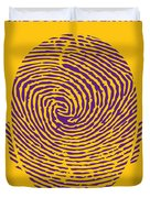 No439 My The Bourne Identity Minimal Movie Poster Duvet Cover